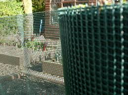 plastic garden fencing 1m x 10m green 5mm green netting fence mesh