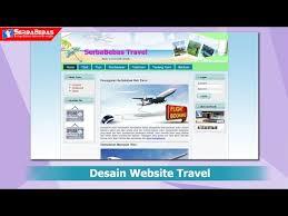 membuat web html cara membuat desain website travel menggunakan bahasa html dan css