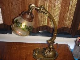 Antique Handel Desk Lamp Details About Antique Solid Bronze Loetz Shade Caldwell Desk Piano