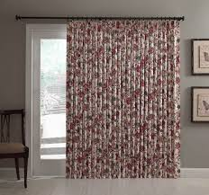 Pinch Pleat Drapery Panels Patio Door Insulated Drapes Patio Door Curtain Panel Pinch
