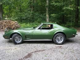 73 corvette stingray for sale 1973 corvette stingray elkhart green one owner 350 250