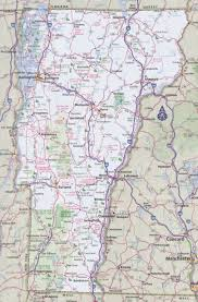 Map Of North Eastern United States by Vermont Road Map