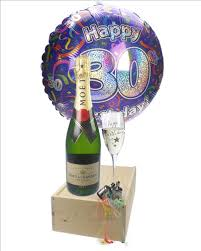 30th birthday delivery 30th birthday gift moet chagne balloon flute next day