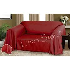 Furniture Throw Covers For Sofa by Amazon Com Dixie Furniture Throw Cover Fringe Bottom Sofa 4