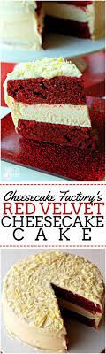 velvet cheesecake recipe cheesecake factory copycat desserts
