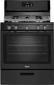 how to light a whirlpool gas oven whirlpool 5 1 cu ft freestanding gas range black wfg505m0bb best buy