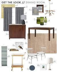sylvia u0027s makeover dining room emily henderson
