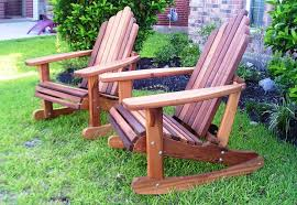 Furniture Wood Rocking Chair Wonderful Outdoor Cedar Rocking Chairs 16401