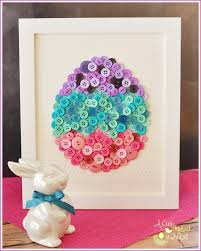 Easter Decorations To Sew by Diy Button Craft