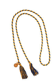 graduation cord twisted graduation cord w char mult 00464 9000