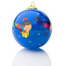 unicef market collectible unicef glass ornament gift of