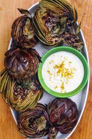recipe grilled artichokes kitchn