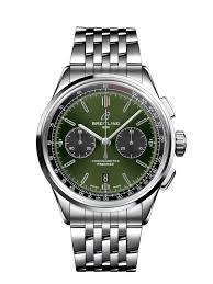 breitling steel bracelet images Premier b01 chronograph 42 bentley steel green ab0118a11l1a1 png