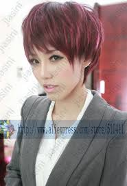 stylish smart women charming pretty short layered highlights