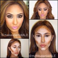 highlight contour makeup wow that s a whole extra layer of shading looks great though guide on