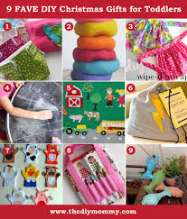 christmas gift ideas for toddlers to make