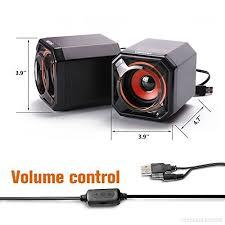 haut parleur pour ordinateur de bureau parleur filaire usb pc pour ordinateur de bureau ordinateur