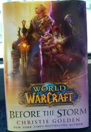 before the book cover revealed at blizzcon 2017