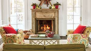 Images Of Mantels Decorated For Christmas 25 Cozy Ideas For Fireplace Mantels Southern Living