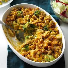 contest winning broccoli chicken casserole recipe taste of home