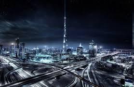 landscape cityscape skyscraper architecture urban dubai