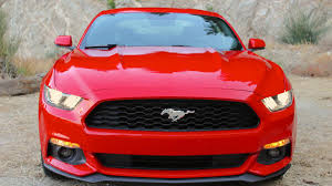 2015 ford mustang ecoboost i 4 new car review and photo gallery