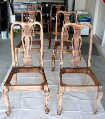 Refinish Dining Chairs Diy Refinished Dining Chairs