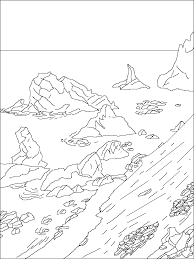 penguin coloring pages printable antarctica coloring throughout