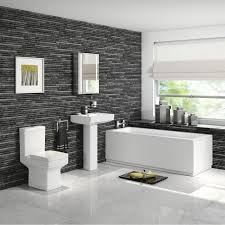 Furniture Bathroom Suites 1700mm Belfort Bath Suite