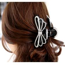 butterfly for hair online get cheap hair claw clip black large aliexpress