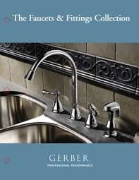 gerber kitchen faucet gerber faucets and fixtures supplied by do it all plumbing and