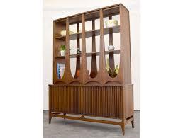 Broyhill China Cabinet Vintage Amazing Sculptural Broyhill U0027brasilia U0027 Room Divider Sold