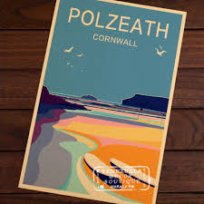 high quality retro surf decor buy cheap retro surf decor lots from polzeath cornwall surfing surf beach sports travel vintage retro poster decorative wall stickers posters bar home