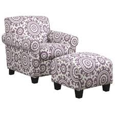 Purple Armchair Purple Chair U0026 Ottoman Sets Joss U0026 Main