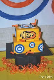 joey s nerf gun cake nerf gun 1000 ideas about nerf gun cake on
