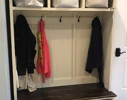 entryway bench shoe storage organization mudroom hall
