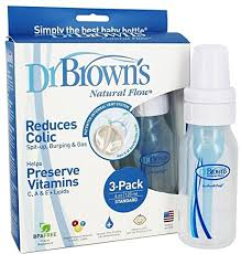 dr brown s original bottle 4 ounce 3 pack baby