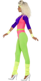 womens costumes women s 80 s workout costume instructor costume 80 s