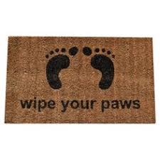 Wipe Your Paws Footprint Doormat Made By Molly U0027s Mats Wipe Your Feet Pinterest Coir
