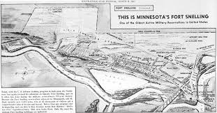Map Of St Paul Mn St Paul Mn Fort Snelling Military History Of The Upper Great Lakes