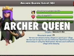 clash of clans archer queen clash of clans by bradley w