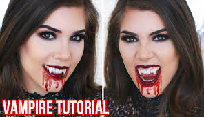 vampire halloween makeup tutorial quick easy and cheap
