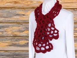 easy crochet scarf pattern trellis crochet cowl pattern chunky