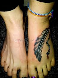 feather foot tattoo 6 best tattoos ever