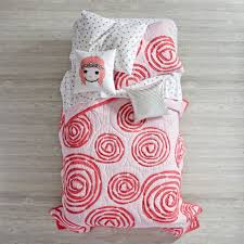 Land Of Nod Girls Bedding by Corsage Quilt The Land Of Nod