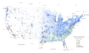 Chicago United States Map by Us Ethnicity Map Per Address Where The Country Is Becoming More