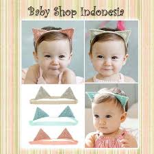 headband baby murah bandana bayi murah headband baby murah aksesoris bayi lucu cat ears