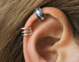 cuff piercing ear cuff non pierced etsy