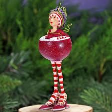patience brewster cocktail glass ornaments custom handmade