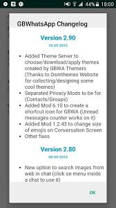 themes for whatsapp reborn 1 80 how to get rid of the obsolete 2060 2061 etc error ogwhatsapp